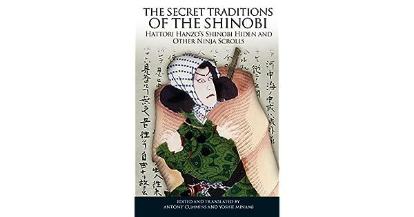 Amazon.com: The Secret Traditions of the Shinobi: Hattori ...