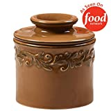 The Original Butter Bell Crock by L. Tremain, Antique Collection - Sienna Brown