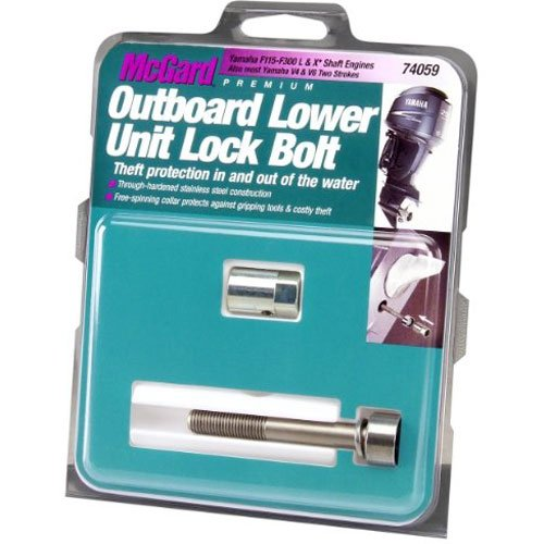 McGard 74059 Silver (M10 x 1.25 Thread Size) Marine Lower Unit Lock Set