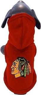 product image for All Star Dogs NHL Unisex NHL Chicago Blackhawks Polar Fleece Hooded Dog Sweatshirt