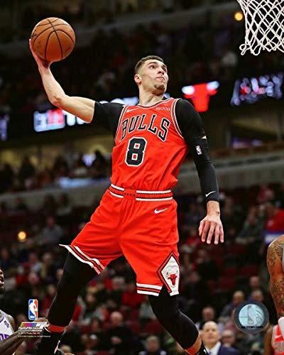 Zach LaVine Chicago Bulls 2018-2019 NBA Action Photo (Size: 8