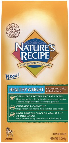 Nature's Recipe Healthy Weight, 4.5-Pound