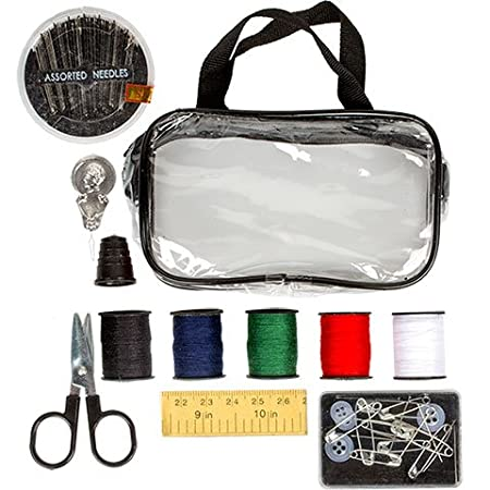 Travel Sewing Kits with Carrying Cases (Black) Greenbrier International Inc.