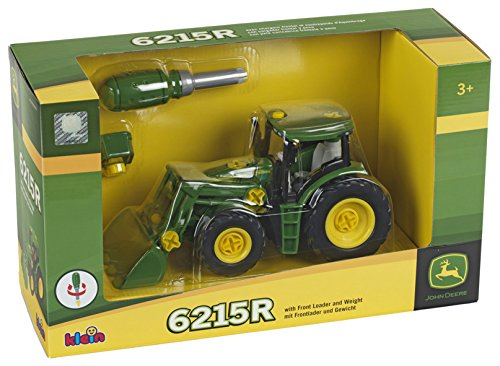 John Deere Construction Set Tractor with Front Loader