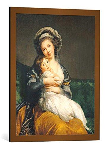 (Framed Art Print: Élisabeth-Louise Vigée-Lébrun