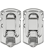 Reliable Hardware Company RH-2510-2-A Set of 2 Medium Size Nickle Plated Briefcase Latch