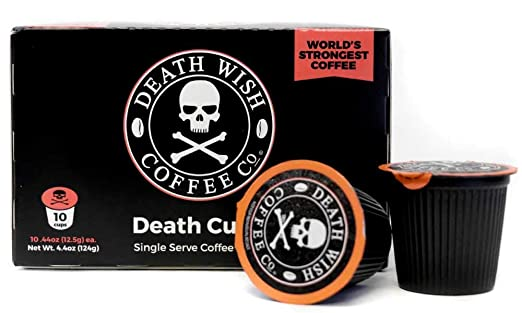 Death Wish Coffee Cups