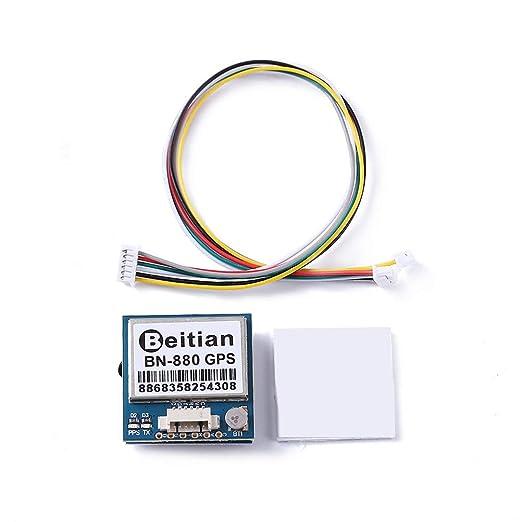 CHOULI Módulo GPS Módulo Dual con Cable Connecotr para RC Drone de ...