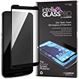 Nexus 6 intelliGLASS PRO EDGE-TO-EDGE - The Smarter Glass Screen Protector by intelliARMOR To Guard Against Scratches and Drops. Ultra HD Clear, Max Touchscreen Accuracy.