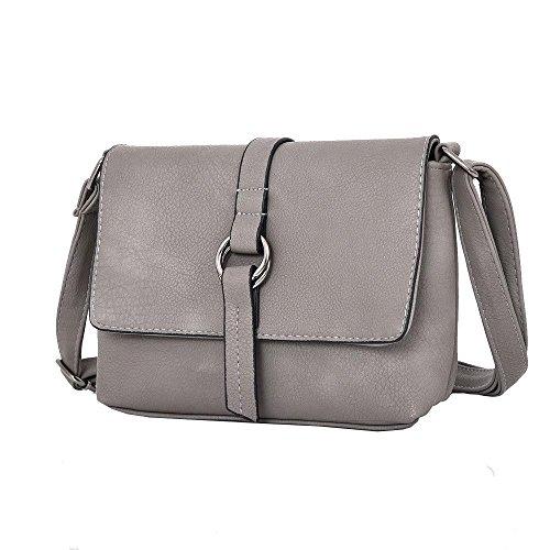 Haute Grey Bag For Body Beau Grey Dive Ring Cross rwrP70qY