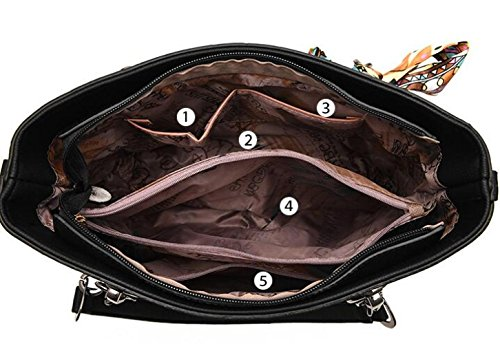 Main Bandoulière Classique Bow à Ms à Casual JPFCAK Mode Sac Sacs E à PU à Bandoulière City Sac Sac Bandoulière Ctz7Ewq