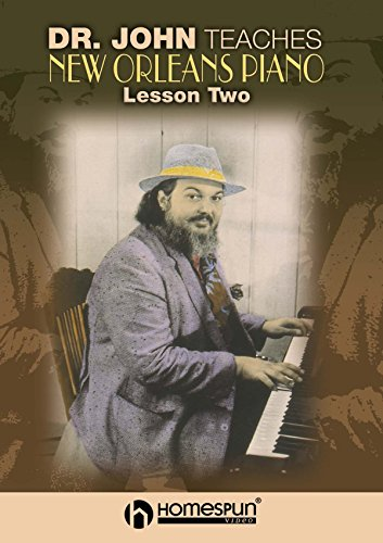Dr. John Teaches New Orleans Piano - Vol 2 [Instant Access]