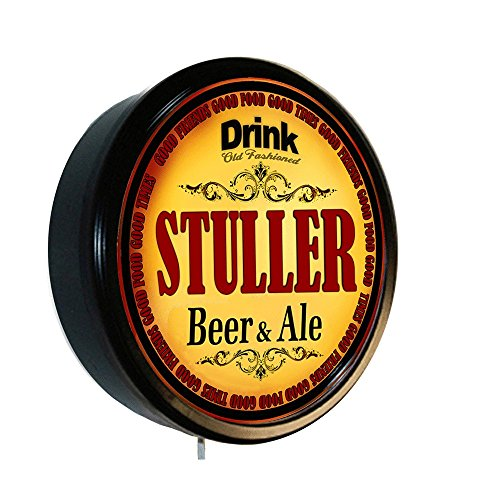 STULLER Beer and Ale Cerveza Lighted Wall Sign from Goldenoldiesclocks