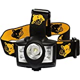 Carpathen LED Headlamp Flashlight with Bright White, 4 Red LEDs, 5 Light Modes & Extra Adjustable Beam & Straps Great for Camping, Hiking or Running