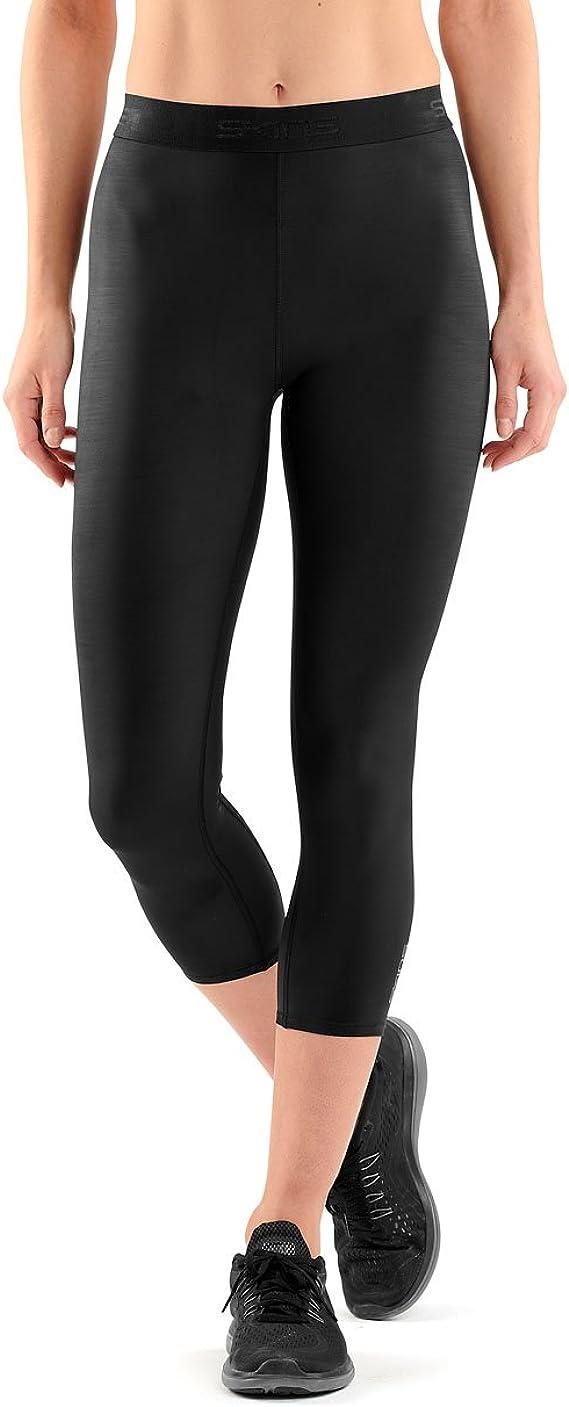 Skins Homme dnamic Core Long Compression Collants Pantalon Pantalon Noir Gris