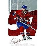 David Desharnais Hockey Card 2016-17 Montreal Canadiens Postcards #5 David Desharnais