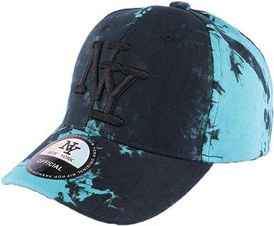 Gorra de béisbol Azul y Negro Fashion NY Tie Walk – Hombre Azul ...