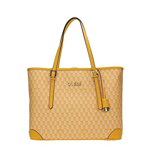 Shopper Yellow Cube 35 Bag Cm Guess 5w6Tqx8