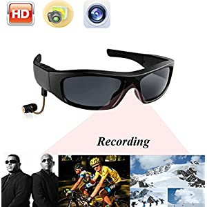 JOYCAM Bluetooth Sport Sunglasses Camera Polarized UV400 Glasses HD 720P DVR Eyewear Video Recording with One Speaker for Outdoor Activities