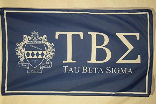 - Tau Beta Sigma College Sorority Official Licensed Flag 3x5