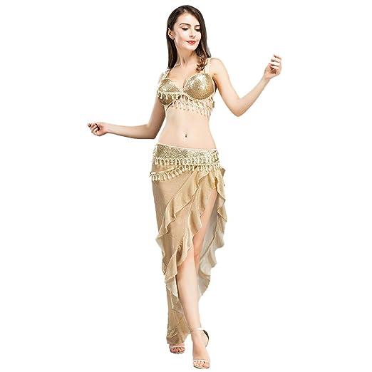 Amazon.com: ROYAL SMEELA - Sujetador de danza del vientre y ...