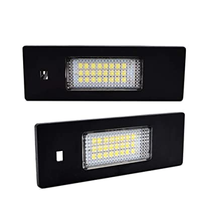 03 Para bmw e46 coupé m m3 LED iluminación de la matrícula matrícula iluminación