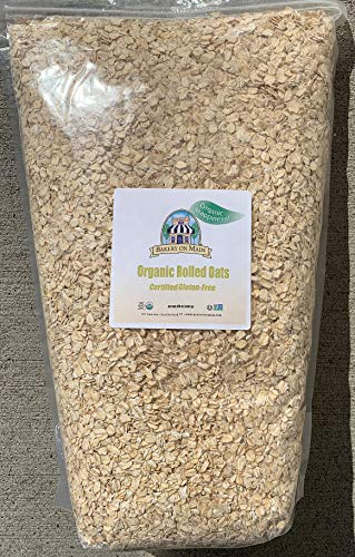 Organic Oats Rolled - Bakery on Main Organic Rolled Oats, 7.5 lb bulk bag (2 Count)