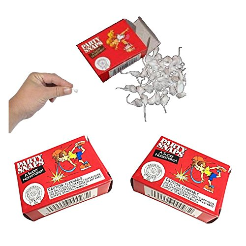 Party Snap Poppers (Pack of 50 Snaps)  (3)