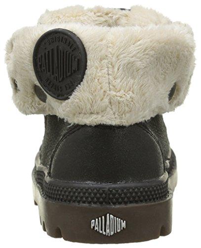 Palladium Bgy L Fs Bb - Zapatos de primeros pasos Bebé-Niños Negro - Noir (806 Black Pilot)