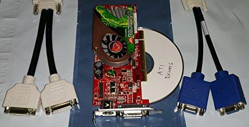 VisionTek ATI Radeon X1300 256MB Windows 7 Dual DVI PCI Vide