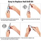 AIRSEE Rechargeable 30000RPM Electric Nail Drill