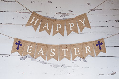 Happy Easter Banner, Easter Decoration B199
