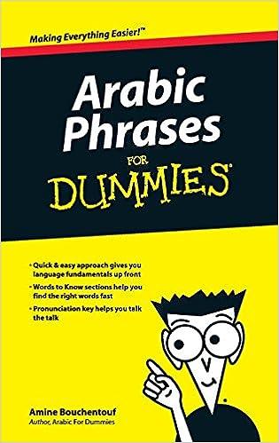 Arabic phrases for dummies amine bouchentouf 8601404422744 amazon arabic phrases for dummies amine bouchentouf 8601404422744 amazon books m4hsunfo