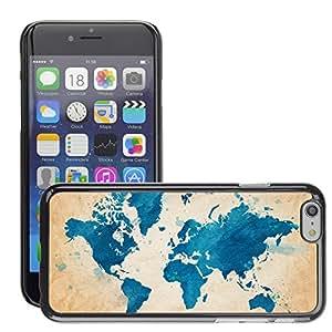 "Print Motif Coque de protection Case Cover // V00001745 mapear la textura del mundo // Apple iPhone 6 6S 6G PLUS 5.5"""