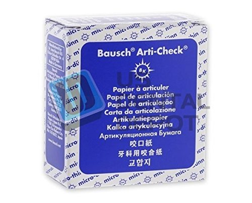 Bausch BK15 Articulating Papers Roll in Dispenser, 22 mm W, Blue