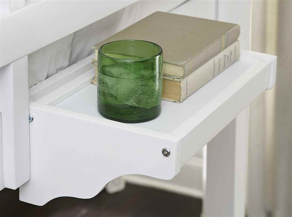 NE Kids Hanging Nightstand in White by NE Kids