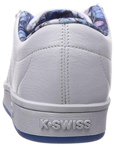 Women French White Swiss K Blue 5xBHCw