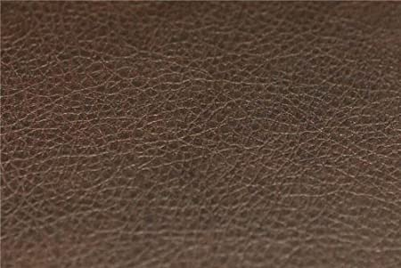 Recycled Eco Friendly Genuine Real Leather Hide Offcuts Chocolate