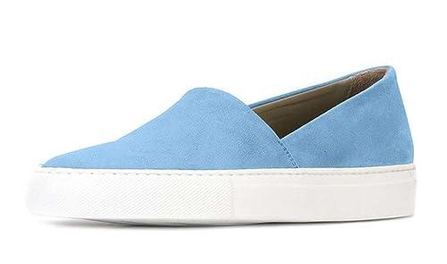 ZXD Mogat - Zapatillas Mocasin Piel Diseno Minimalista Unisex Niños Adultos Talla 46 / 28cm: Amazon.es: Zapatos y complementos