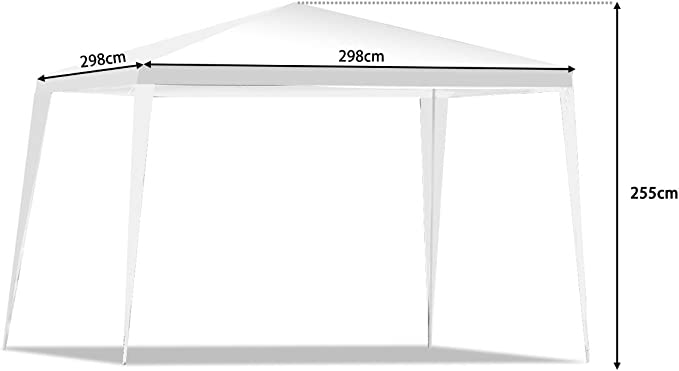 Casart - Carpa para exteriores (3 x 3 m, 3 x 6 m), color 3 x 3 m ...