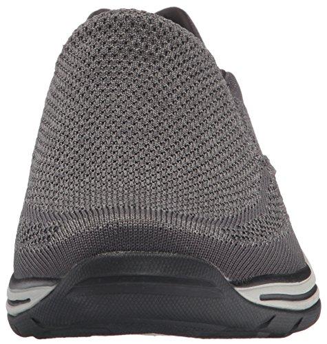 Slip Skechers on 65086 Gray Man wwErY5xqR