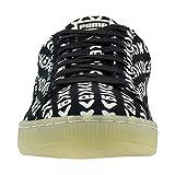 PUMA Mens Suede Zamunda Lace Up Sneakers Shoes