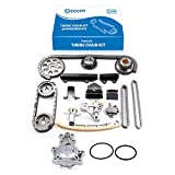 ECCPP Timing Chain Kit and Water Pump With Gasket