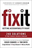 Fix It: Getting Accountability Right