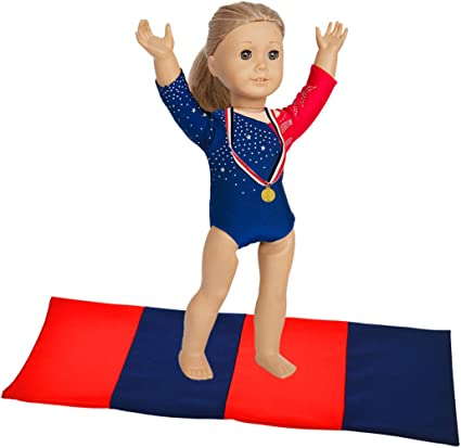 Fit For 18/'/' American Girl Doll Accessory Gift Gold Trophy Camp Games Champions