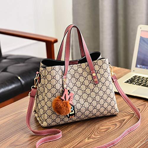 XMY Big Bag einfache Mode Atmosphäre wild wild wild einzelne Schulter Messenger Bag Handtasche B07P2558WZ Schultertaschen Neuer Eintrag 7e022e
