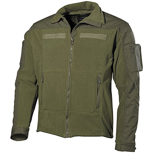 MFH Hommes US Combat Fleece Jacket Olive
