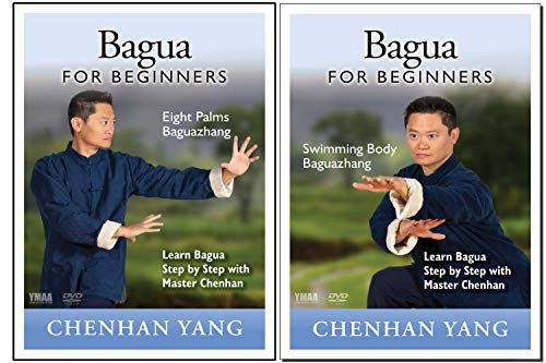 Bundle - 2 Items: Bagua Zhang Eight Palms and Swimming Body (YMAA) Chenhan Yang