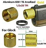 DB TAC INC Aluminum 6061 T6 1/2 x 28 Thread