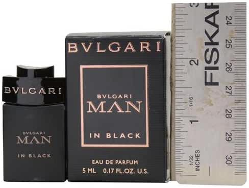 Bvlgari Man In Black Eau de Parfum Mini Splash .17oz/5ml